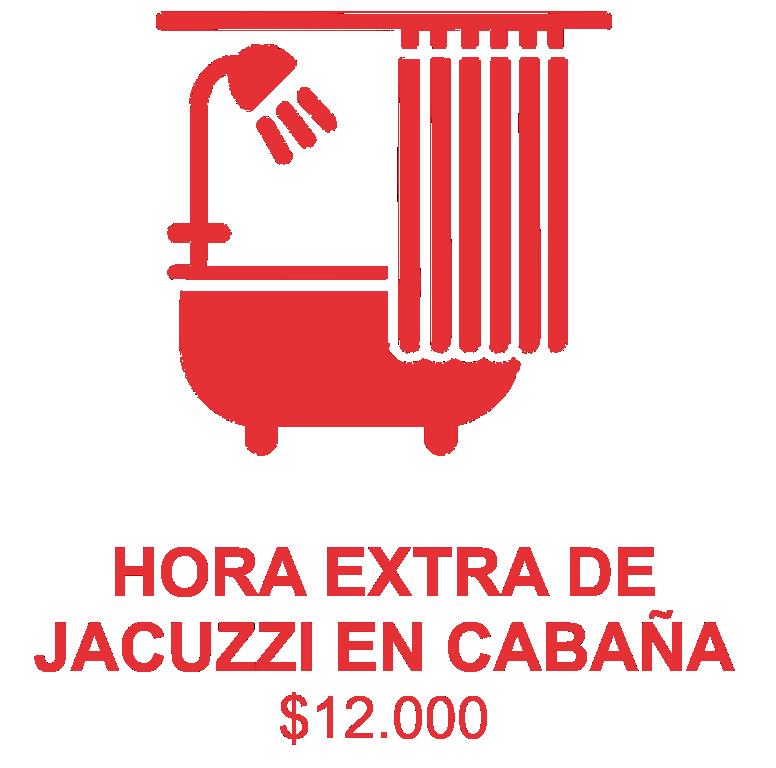servicio hora extra jacuzzi cabaña5